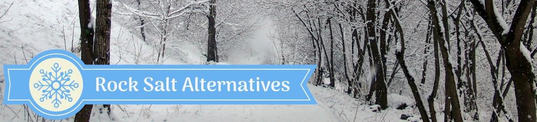 Ice Melt Spreaders - Rock Salt Alternatives
